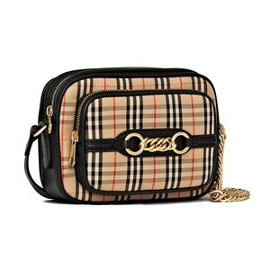 Burberry The 1983 Check Link Camera Cross Body Bag